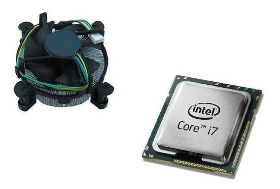 Kit Processador Intel Core I7 3770 + Cooler E Dissipador