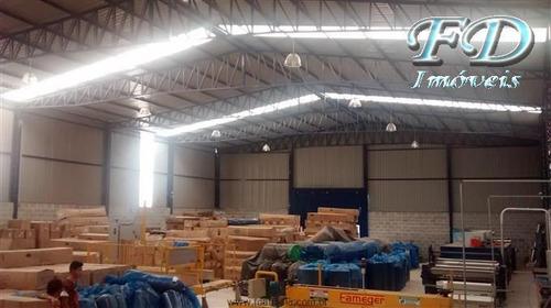 Imagem 1 de 25 de Galpões Industriais À Venda  Em Mairiporã/sp - Compre O Seu Galpões Industriais Aqui! - 1342626