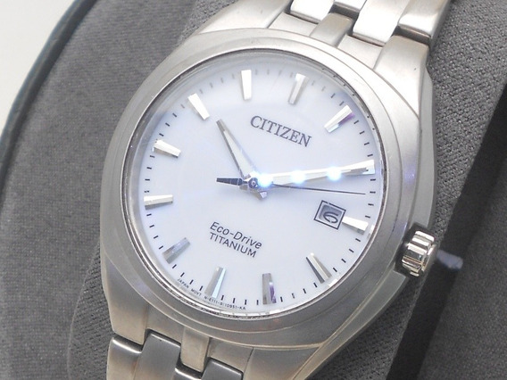 Reloj Citizen Eco-drive Titanio Para Caballero Calibre E111