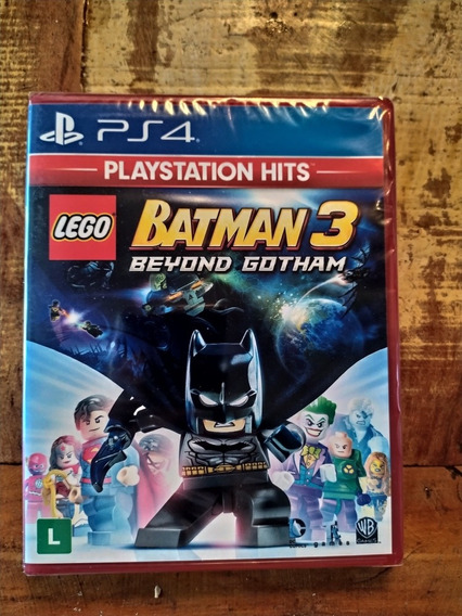 Lego Batman 3 Beyond Gotham Lacrado Ps4