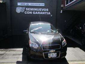 Chevrolet Aveo 2014 J Ls Automático, Ac Y Radio