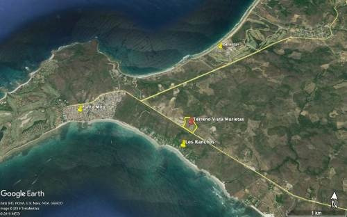 ¡atención Desarrolladores! Terreno En Punta De Mita Frente A Los Ranchos, Uso De Suelo Cru Y H211