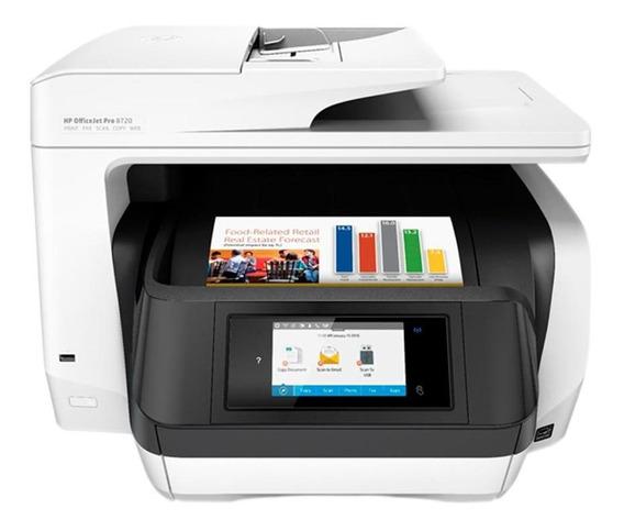 Impressora Hp Pro 8720 Jato De Tinta A3