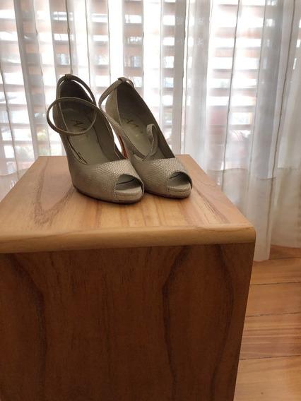 Zapatos De Novia 100% Cuero 35.5/36
