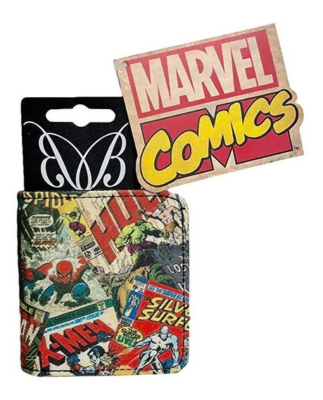 Marvel: Billetera Comic Retro Zip