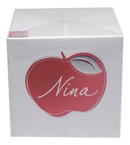 Nina Feminino Eau De Toilette 80 Ml 100% Original E Lacrado + Amostra.