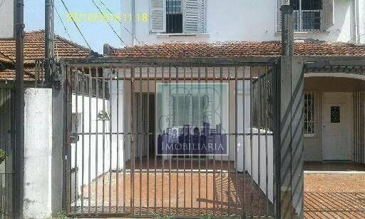 Sobrado Para Alugar, 112 M² Por R$ 2.400/mês - Santo Amaro - São Paulo/sp - So0064