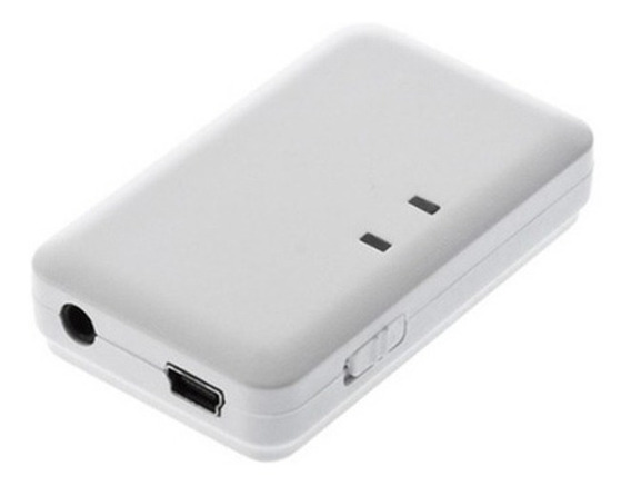 Receptor Áudio Stereo Bluetooth P2 3,5mm - Branco
