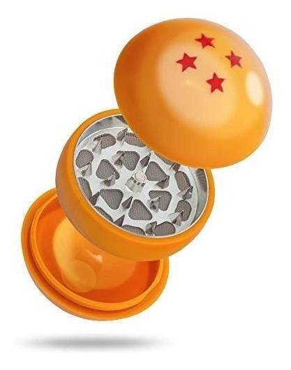 Picador Esfera Dragon Ball Grinder 3 Partes Hiervas Tabaco