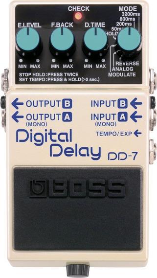 Pedal Boss Dd 7 Digital Delay Dd7 Delay
