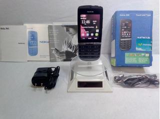 Nokia Asha 300 Negro Movistar -- Envío Gratis --