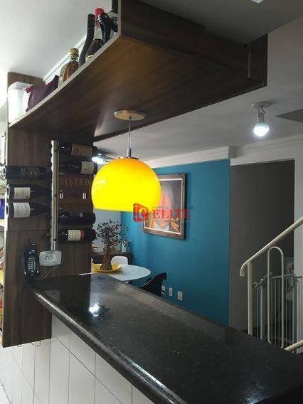Cobertura Com 3 Dormitórios À Venda, 108 M² Por R$ 320.000,00 - Jardim América - São José Dos Campos/sp - Co0048