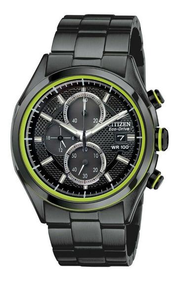 Reloj Citizen Eco-drive Cronógrafo Hombre 40 Mm Ca0435-51e