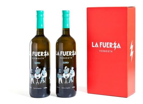 Imagen 1 de 5 de Caja De 2 Botellas La Fuerza Blanco