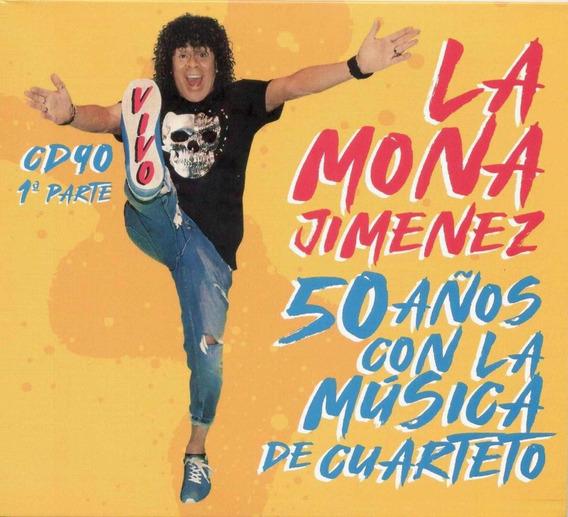 Jimenez La Mona 50 Años Con La Musica De Cuarteto Cd Nuevo