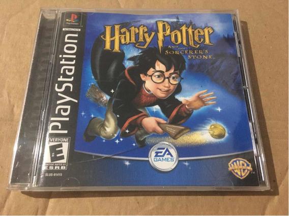 Harry Potter E A Pedra Filosofal - Ps1