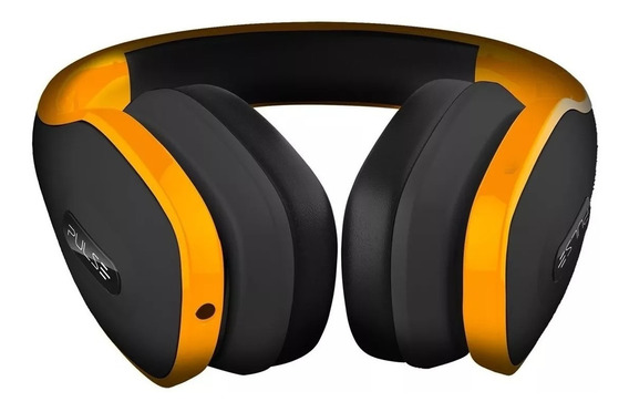 Fone Ouvido Headphone Pulse Over Ear Amrelo Ph148 Multilaser