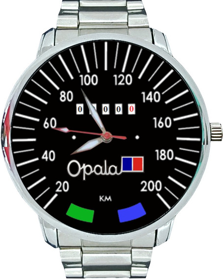 Relógio Personalizado Pulso Velocimetro Opala Antigo 200km
