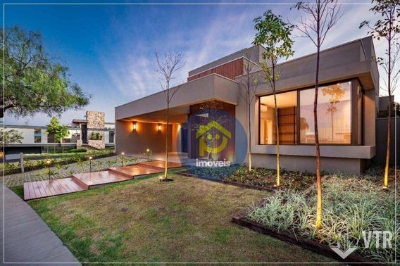 Casa De Alto Padrão Com 3 Suítes À Venda, 270 M² Por R$ 1.950.000 - Residencial Quinta Do Golfe - São José Do Rio Preto/sp - Ca2707