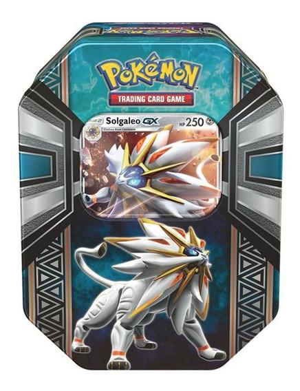 Coleccion Tarjetas Solgaleo Legends Of Alola Tin Pokemon