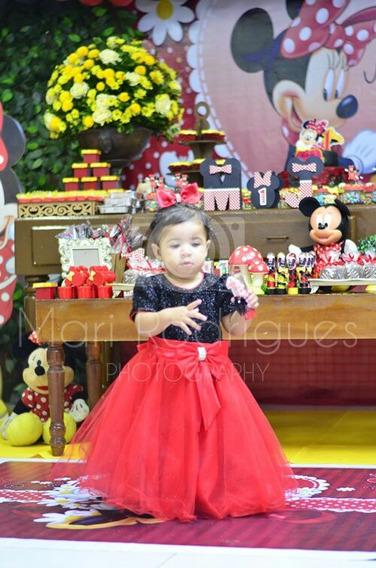 Vestido De Luxo Ótimo Para Festa De 1 Ano . Veste 1/2 Anos