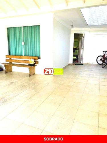 Ca09416 -sobrado - Vila Furlan - At 150m² - Ac 182m² - 3 Dormitórios - Planejados -- R$ 633.000,00 - Indaiatuba Sp - Z10 Imóveis - Ca09416 - 69424306