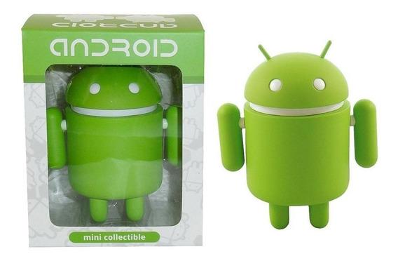Android Verde Figura Coleccionable De Vinil Big Box Edition