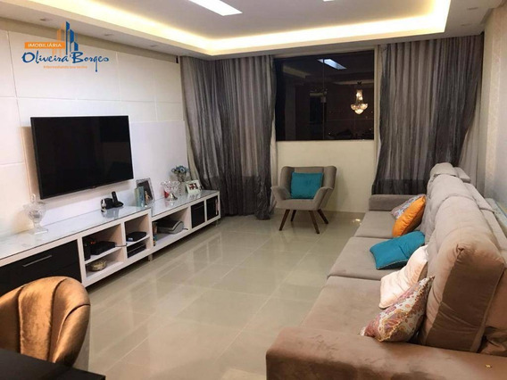 Apartamento À Venda Com 3 Dormitórios Por R$430.000,00 - Jardim Alexandrina - Anápolis/go - Ap0323