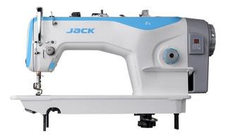 Máquina de coser industrial Jack F4 blanca 110V