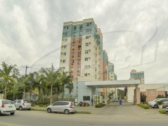 Apartamento Semi Mobiliado Com 02 Dormitórios No Condomínio Bosque Cristalli - Blumenau Bairro Itoupava Central - 3578436