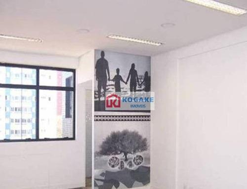 Imagem 1 de 6 de Sala Para Alugar, 33 M² Por R$ 1.300,00/mês - Jardim Aquarius - São José Dos Campos/sp - Sa0609