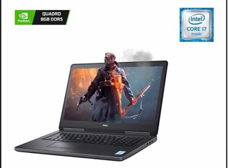 Laptop Dell Precision7720 I7ram32gb+ssd 512 M.2 Video.quadro