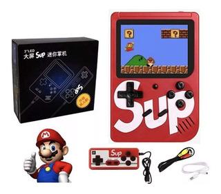 Nintendo Sup Game 400 Juegos + 1 Control Adicional Cable Tv