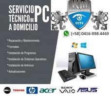 Servicio Y Mant De Computadoras Y Laptops (puerto Ordaz)