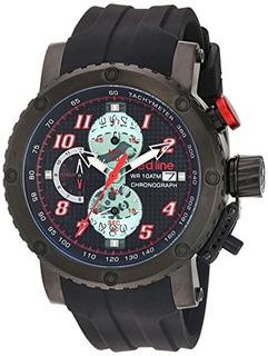 Linea Roja Gto Reloj Automatico Acero Inoxidable Y Silicona