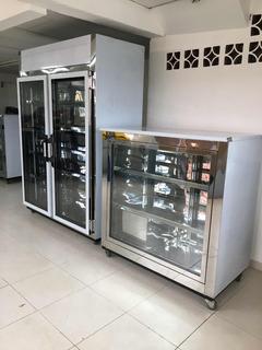 Vitrina Mostradora Refrigerada