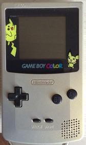 Game Boy Color Pokemon + Jogos + Acessórios