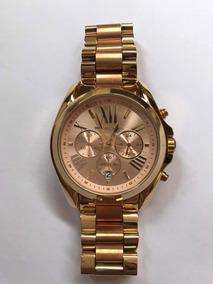 Relógio Michael Kors Feminino Dourado E Rosé