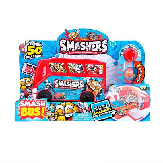 Playset Smasher Ônibus Com 1 Surpresa - Candide