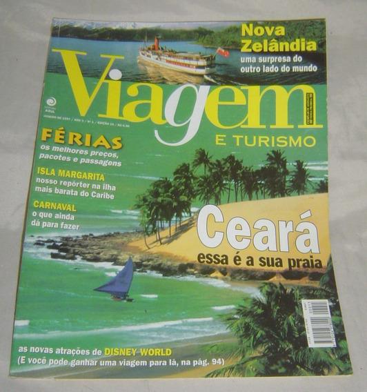 Revista Viagem E Turismo - Nº 1 - Edição 15 - Janeiro 1997.