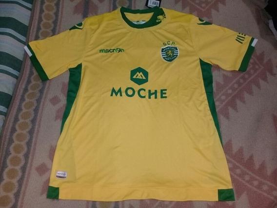 Camiseta Sporting Lisboa Macron Original Talle L