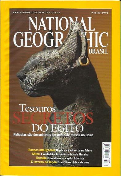 3 Edições National Geographic: Jan, Fev, Mar / 2003