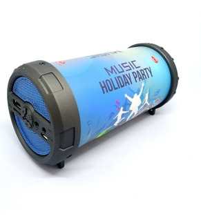 Mini Parlante Oneplus Bazooka Bluetooth Usb Sd Fm Portatil