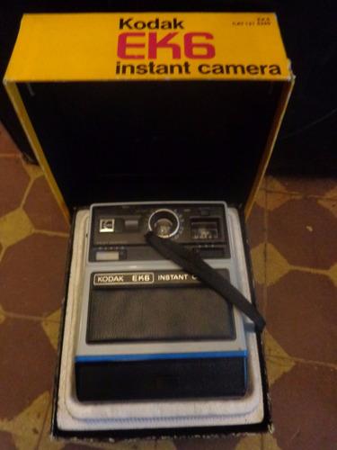 Câmera Fotografica Kodak Instant Camera Caixa Original Ek6