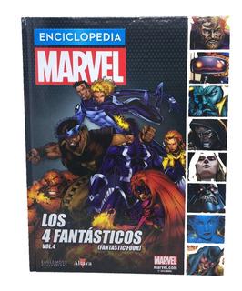 Enciclopedia Marvel Nº 33 Los 4 Fantásticos Volumen 4