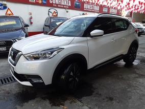 Nissan Kicks Advance Aut 2017 Blanco Aperlado