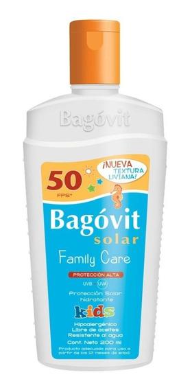 Bagovit Protección Solar Alta Fps50 Kids Emulsión 200ml