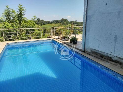 Chácara Com 8 Dormitórios À Venda, 2000 M² Por R$ 779.900,00 - Pau Queimado - Piracicaba/sp - Ch0032