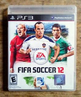 Video Juego De Ps3 Fifa Soccer 12 (5 Verdes)