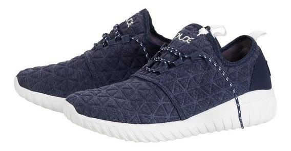 Zapatos Hey Dude Renova Hombre Azul